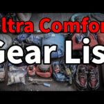Multi-Day Backpacking Gear List  | 12 lbs |