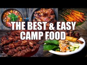 The Best & Easy Camp Food I Made For Our Yosemite Camping Trip
